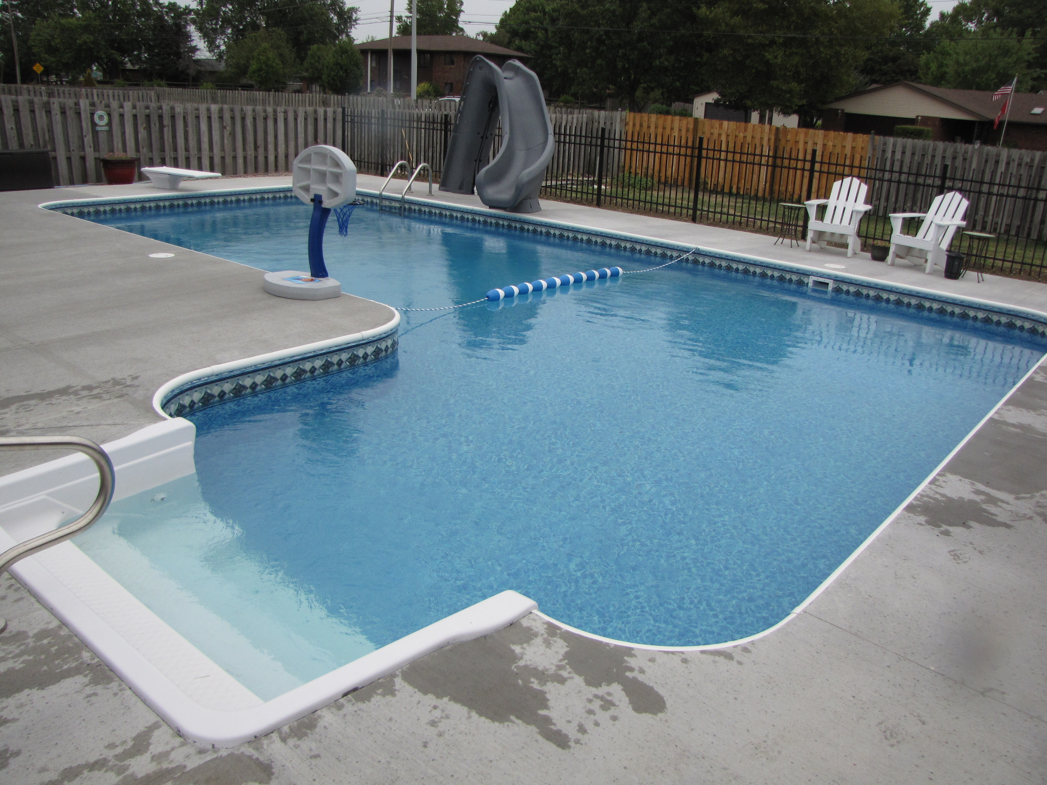 In Ground Pool Photos Pegasus Products