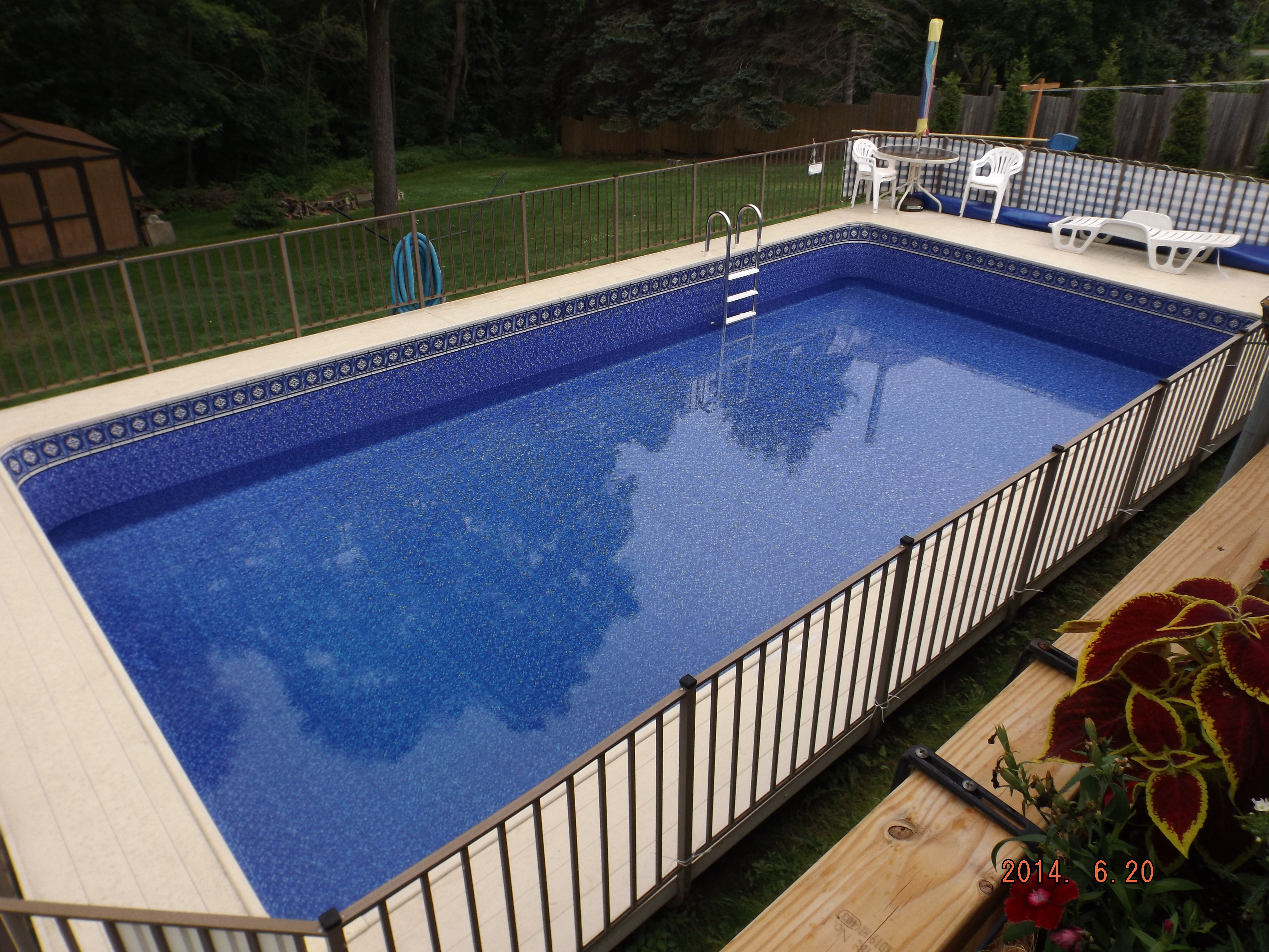 Above Ground Pool Photos Pegasus Products
